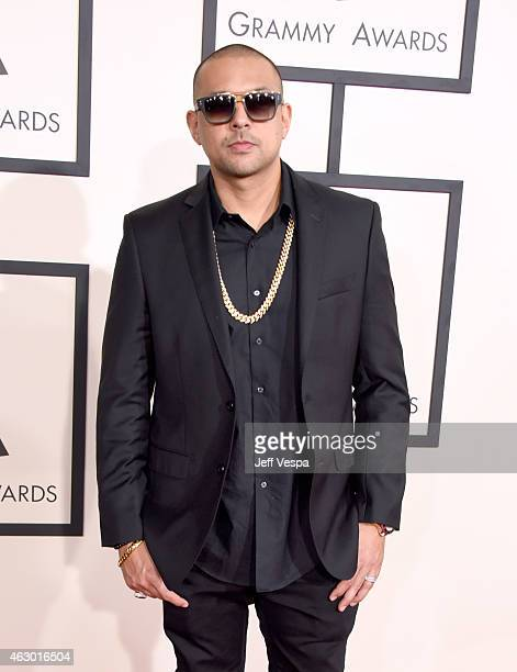 Recording artist Sean Paul attends The 57th Annual GRAMMY Awards at the STAPLES Center on February 8 2015 in Los Angeles California