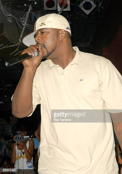 Recording artist Sean Price performs at the 8th Annual Black August Benefit Concert at BB Kings August 7 2005 in New York City