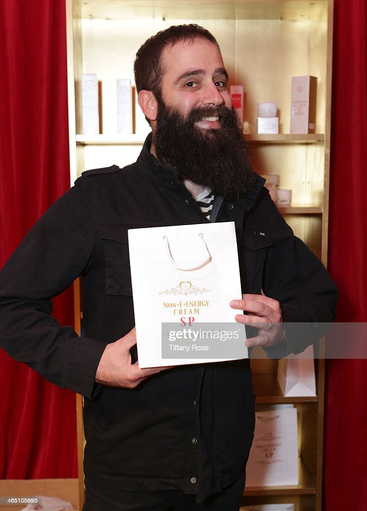 Recording artist Sebu Simonian of Capital Cities attends the GRAMMY Gift Lounge during the 56th Grammy Awards at Staples Center on January 25 2014 in...