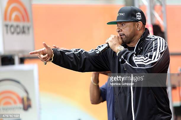 Recording artist Shaggy Performs On NBC's 'Today' at Rockefeller Plaza on July 7 2015 in New York City
