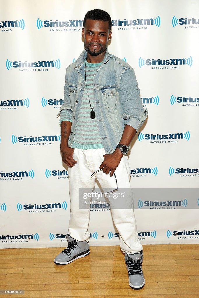 Recording artist Shaliek visits SiriusXM Studios on June 13, 2013 in New York City.