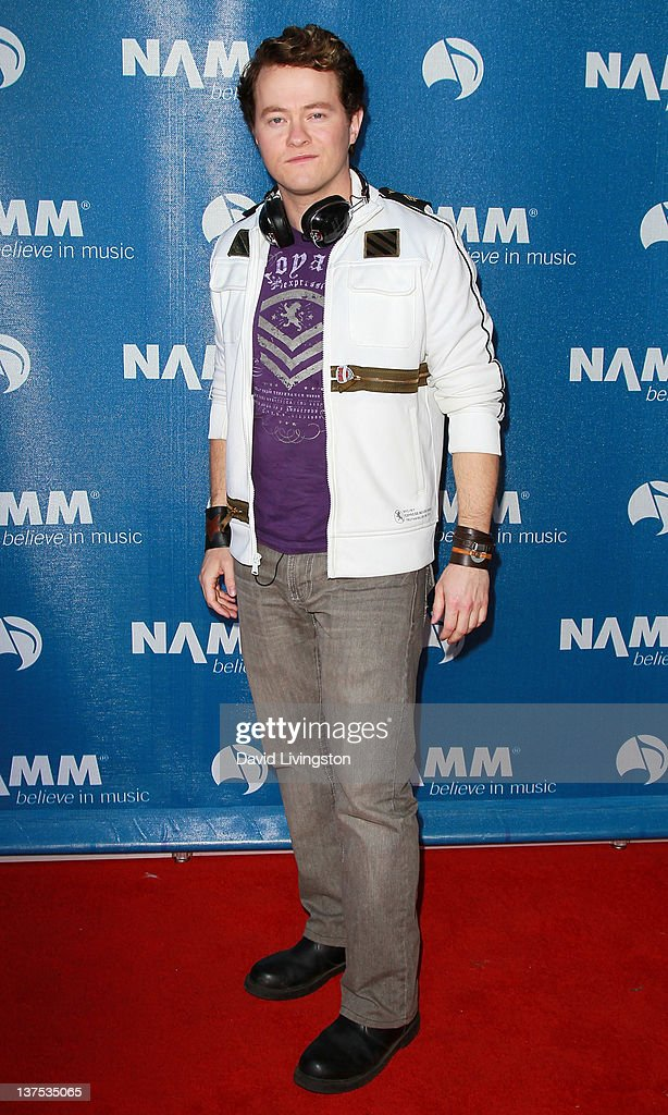 Recording artist Shaun Barrowes attends the 110th NAMM Show - Day 3 at the Anaheim Convention Center on January 21, 2012 in Anaheim, California.