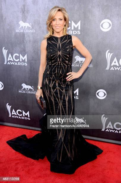 Recording artist Sheryl Crow attends the 49th Annual Academy of Country Music Awards at the MGM Grand Garden Arena on April 6 2014 in Las Vegas Nevada