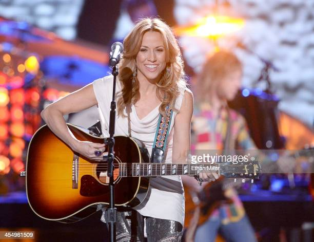 Recording artist Sheryl Crow performs onstage during the American Country Awards 2013 at the Mandalay Bay Events Center on December 10 2013 in Las...