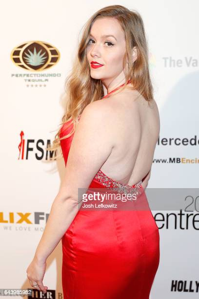 Recording artist Shyla Day arrives at the 2017 Entrepreneur Awards at Allure Events And Catering on February 22 2017 in Van Nuys California