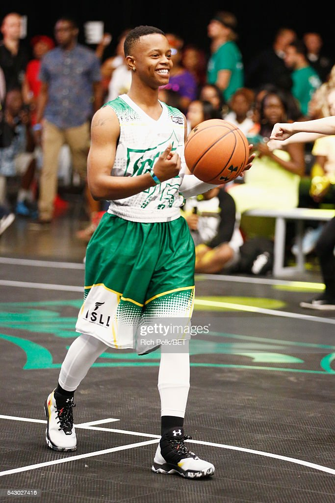 Recording artist Silento participates in the celebrity basketball game presented by Sprite during the 2016 BET Experience on June 25, 2016 in Los Angeles, California.