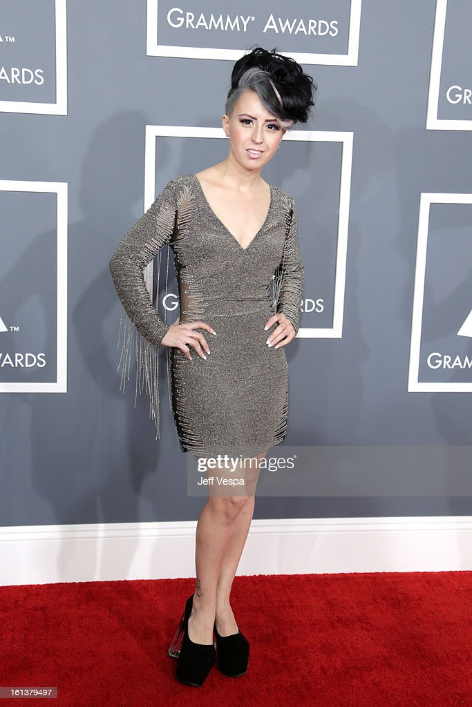 Recording Artist Sirah attends the 55th Annual GRAMMY Awards at STAPLES Center on February 10, 2013 in Los Angeles, California.