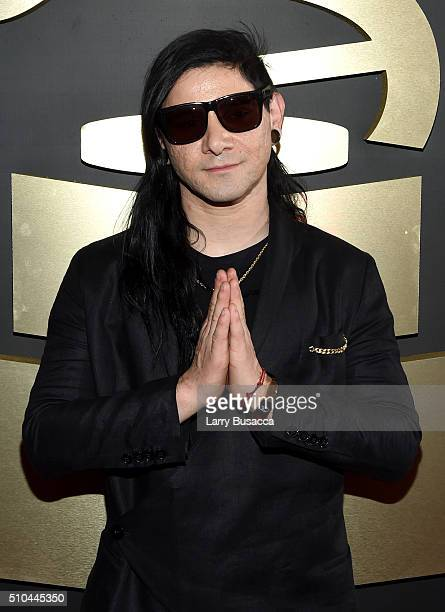 Recording artist Skrillex attends The 58th GRAMMY Awards at Staples Center on February 15 2016 in Los Angeles California