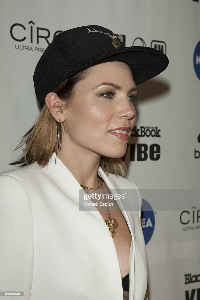 Recording Artist Skylar attends Interscope Records AMA After Party Hosted By NIVEA Lip Butters & Ciroc Ultra Premium Vodka Portraits Inside on November 18, 2012 in Los Angeles, California.
