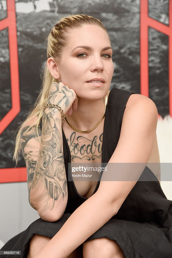 Recording artist Skylar Grey spends time at The Patch during the 2016 Billboard Hot 100 Festival - Day 2 at Nikon at Jones Beach Theater on August 21, 2016 in Wantagh, New York.