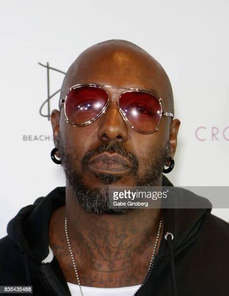Recording artist Sleepy Brown arrives at Drai's Beach Club Nightclub at The Cromwell Las Vegas on August 19 2017 in Las Vegas Nevada