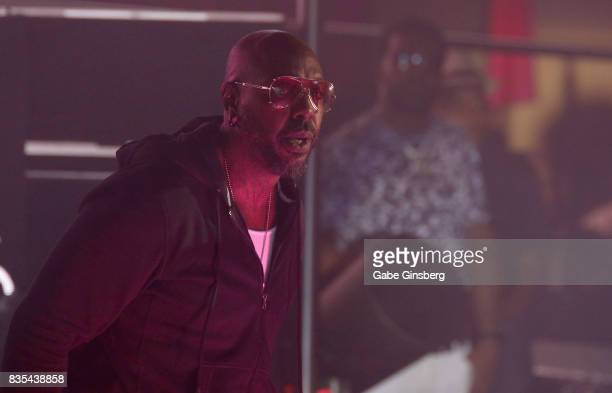 Recording artist Sleepy Brown performs at Drai's Beach Club Nightclub at The Cromwell Las Vegas on August 19 2017 in Las Vegas Nevada