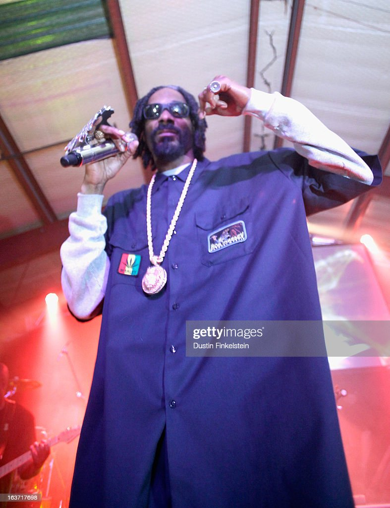Recording artist Snoop Dogg aka Snoop Lion performs onstage at Lion Fest during the 2013 SXSW Music, Film + Interactive Festival at Viceland on March 14, 2013 in Austin, Texas.