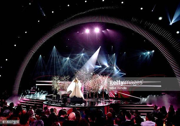 Recording artist Sofia Reyes performs onstage during the 2016 Latin American Music Awards at Dolby Theatre on October 6 2016 in Hollywood California