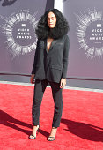 Recording artist Solange Knowles attends the 2014 MTV Video Music Awards at The Forum on August 24 2014 in Inglewood California