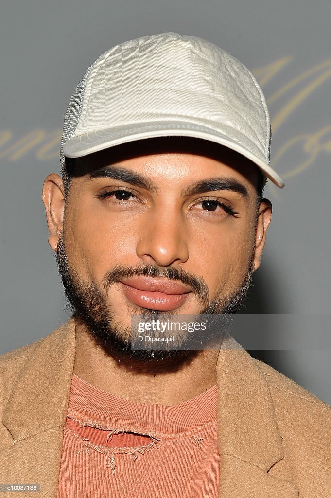 Recording artist Solomon Ray attends the Leanne Marshall Fall 2016 fashion show during New York Fashion Week: The Shows at The Gallery, Skylight at Clarkson Sq on February 13, 2016 in New York City.