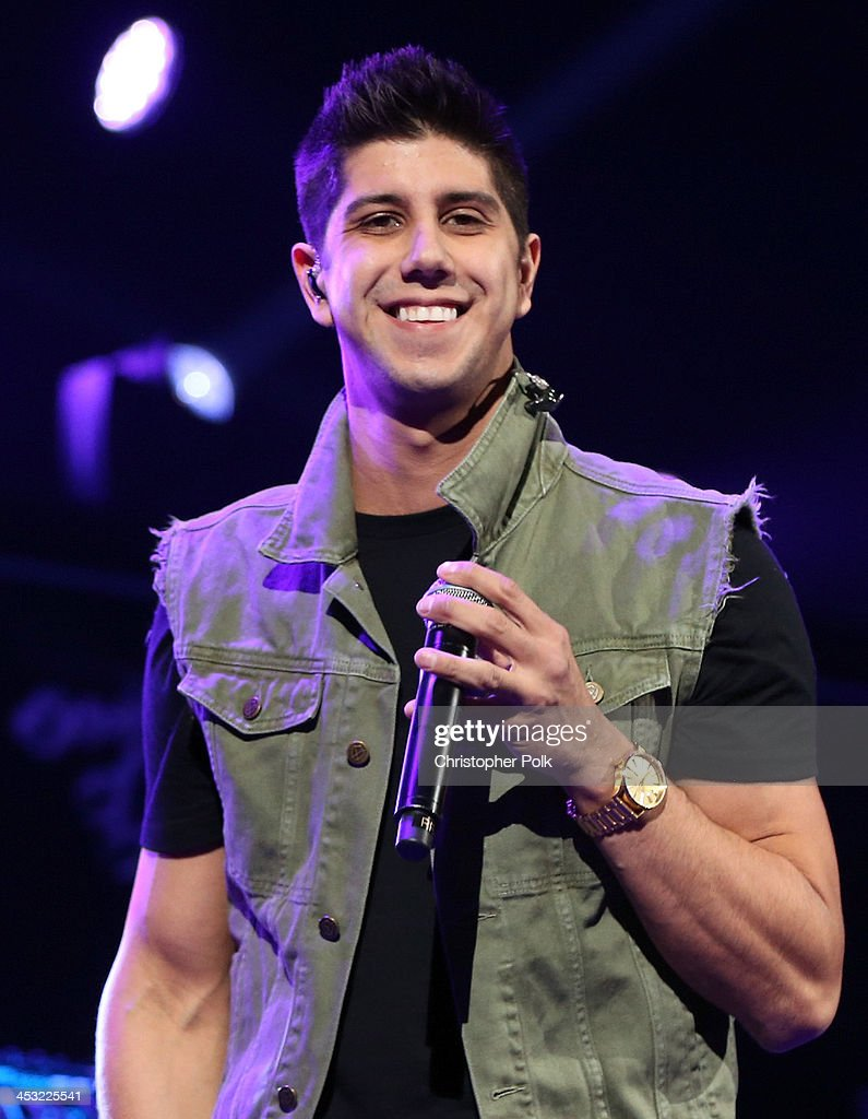 Recording artist SoMo performs onstage during 106.1 KISS FM's Jingle Ball 2013 at American Airlines Center on December 2, 2013 in Dallas, Texas.