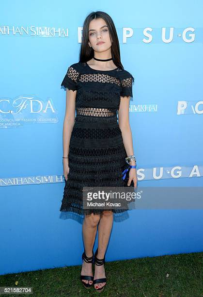 Recording Artist Sonia Ben Ammar attends POPSUGAR and the Council of Fashion Designers of America brunch with designer Jonathan Simkhai at the Cabana...