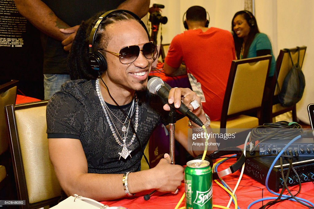 Recording artist Spectacular attends the radio broadcast center during the 2016 BET Experience at the JW Marriott Los Angeles L.A. Live on June 24, 2016 in Los Angeles, California.