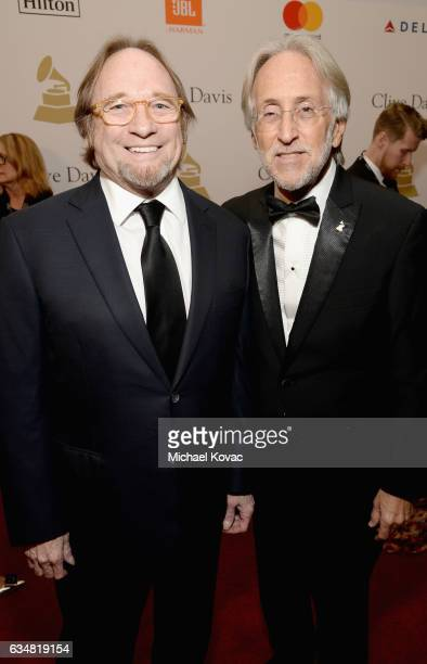 Recording artist Stephen Stills and President/CEO of The Recording Academy and GRAMMY Foundation President/CEO Neil Portnow attend PreGRAMMY Gala and...