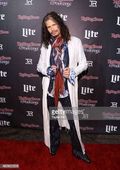 Recording artist Steven Tyler of Aerosmith attends Rolling Stone LIVE Presented By Miller Lite at The Venue of Scottsdale on January 31 2015 in...
