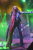 Recording artist Steven Tyler of Aerosmith performs onstage during the Rolling Stone LIVE Presented By Miller Lite at The Venue of Scottsdale on...