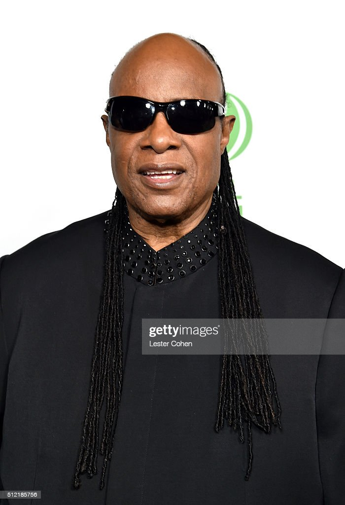 Recording artist Stevie Wonder attends Global Green USA's 13th annual pre-Oscar party at Mr. C Beverly Hills on February 24, 2016 in Los Angeles, California.