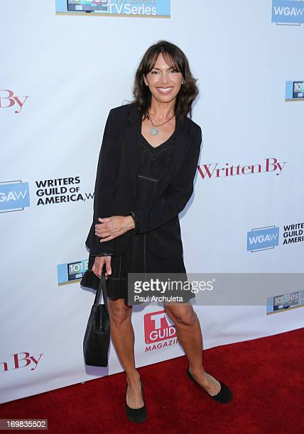 Recording Artist Susanna Hoffs attends the WGA's 101 Best Written Series at the Writers Guild Theater on June 2 2013 in Beverly Hills California