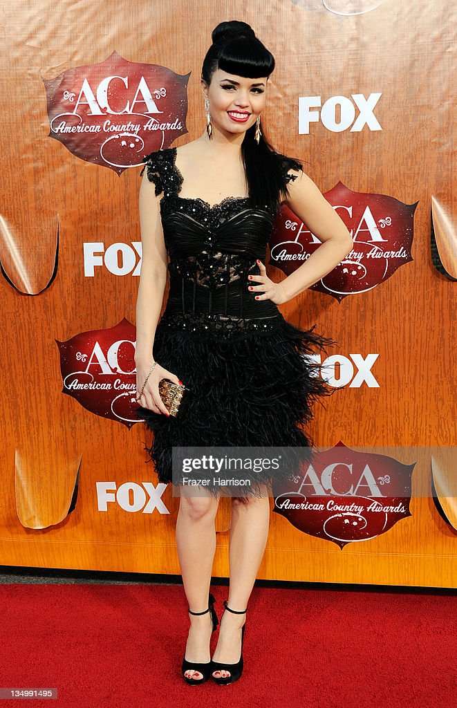 Recording artist Susie Brown of The JaneDear Girls arrives at the American Country Awards 2011 at the MGM Grand Garden Arena on December 5, 2011 in Las Vegas, Nevada.