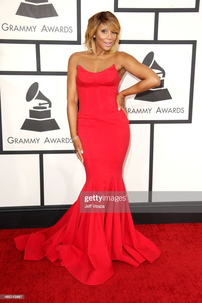 Recording artist Tamar Braxton attends the 56th GRAMMY Awards at Staples Center on January 26, 2014 in Los Angeles, California.
