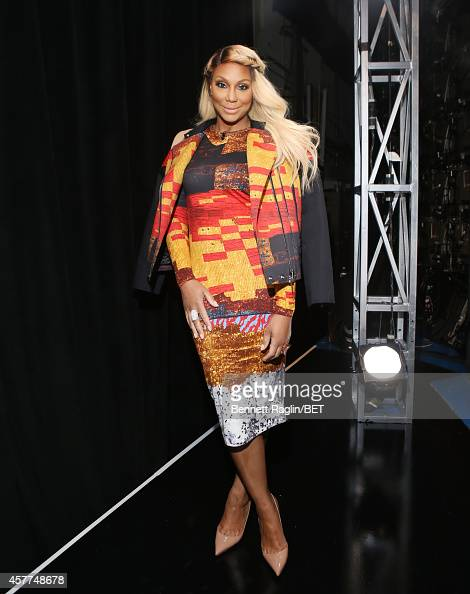 Recording artist Tamar Braxton visits 106 Park at BET studio on October 22 2014 in New York City