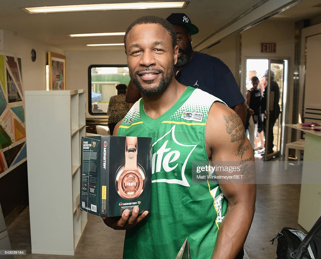 Recording artist Tank attends the BETX gifting suite during the 2016 BET Experience on June 25, 2016 in Los Angeles, California.