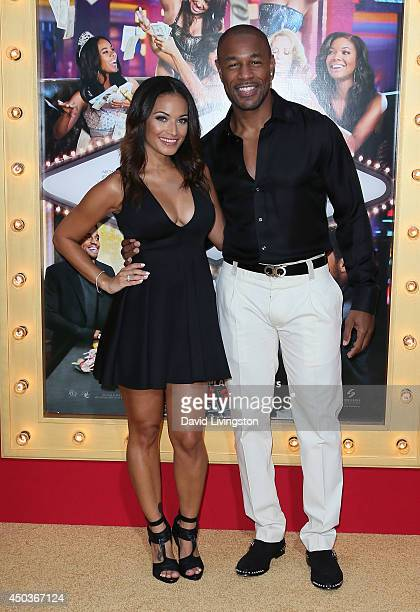 Recording artist Tank attends the premiere of Screen Gems' 'Think Like a Man Too' at the TCL Chinese Theatre on June 9 2014 in Hollywood California