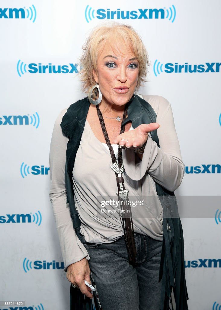 Recording artist Tanya Tucker visits SiriusXM at SiriusXM Studios on August 22, 2017 in New York City.