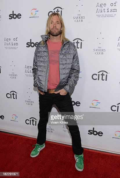 Recording artist Taylor Hawkins attends Foo Fighter's Taylor Hawkins And Chevy Metal Benefit Concert With The Generation Rescue And Age Of Autism at...