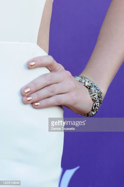 Recording artist Taylor Swift arrives at the 47th Annual Academy Of Country Music Awards held at the MGM Grand Garden Arena on April 1 2012 in Las...