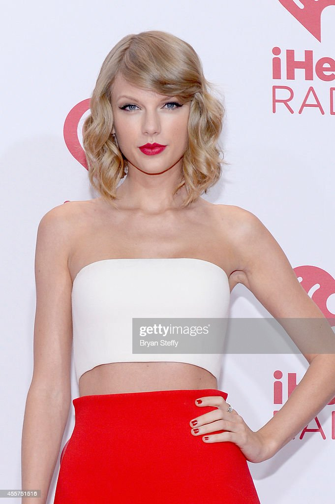 Recording artist <a gi-track='captionPersonalityLinkClicked' href=/galleries/search?phrase=Taylor+Swift&family=editorial&specificpeople=619504 ng-click='$event.stopPropagation()'>Taylor Swift</a> attends the 2014 iHeartRadio Music Festival at the MGM Grand Garden Arena on September 19, 2014 in Las Vegas, Nevada.