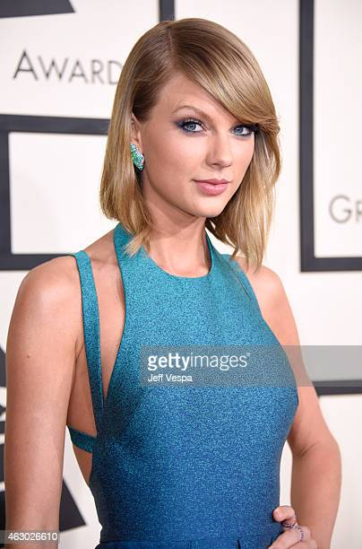Recording artist Taylor Swift attends The 57th Annual GRAMMY Awards at the STAPLES Center on February 8 2015 in Los Angeles California