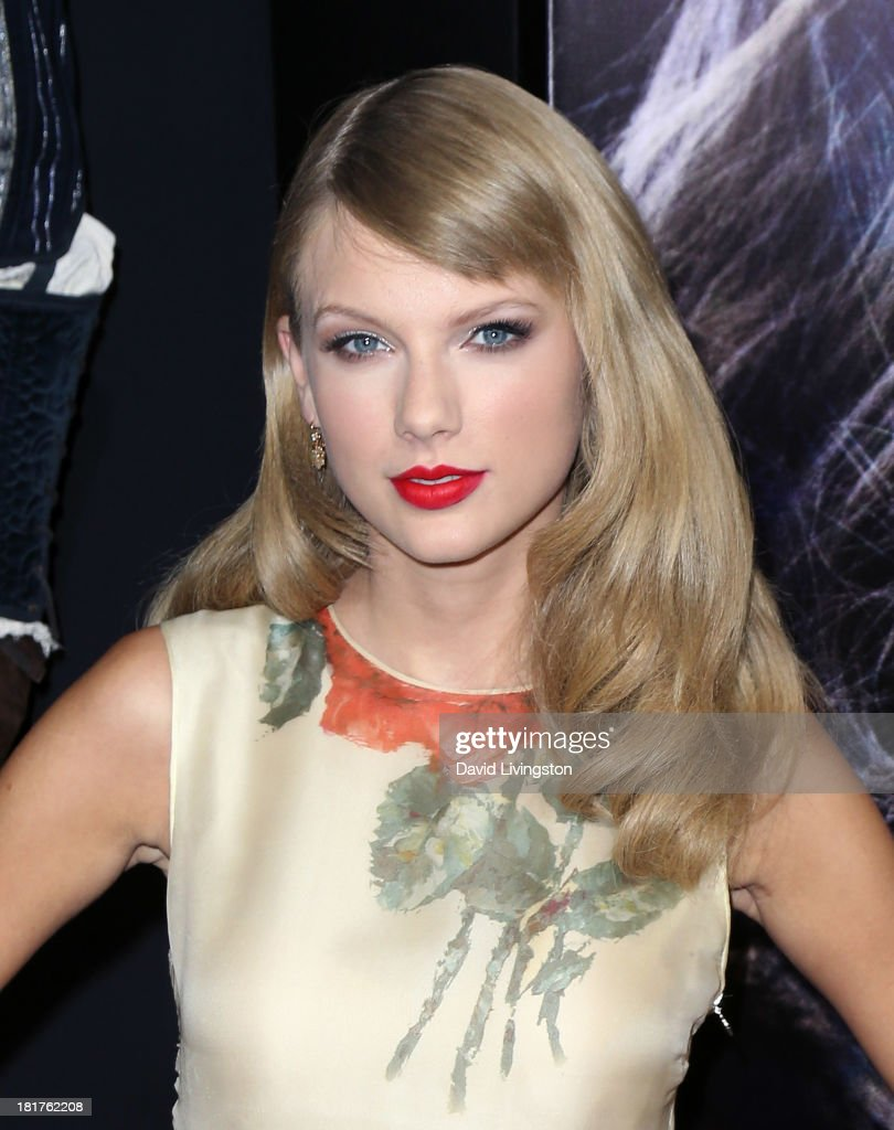 Recording artist <a gi-track='captionPersonalityLinkClicked' href=/galleries/search?phrase=Taylor+Swift&family=editorial&specificpeople=619504 ng-click='$event.stopPropagation()'>Taylor Swift</a> attends the premiere of Relativity Media's 'Romeo & Juliet' at ArcLight Hollywood on September 24, 2013 in Hollywood, California.