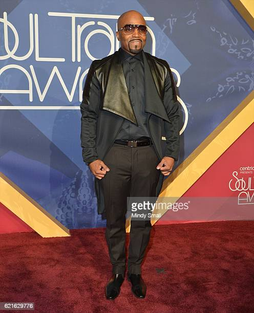 Recording artist Teddy Riley attends the 2016 Soul Train Music Awards at the Orleans Arena on November 6 2016 in Las Vegas Nevada