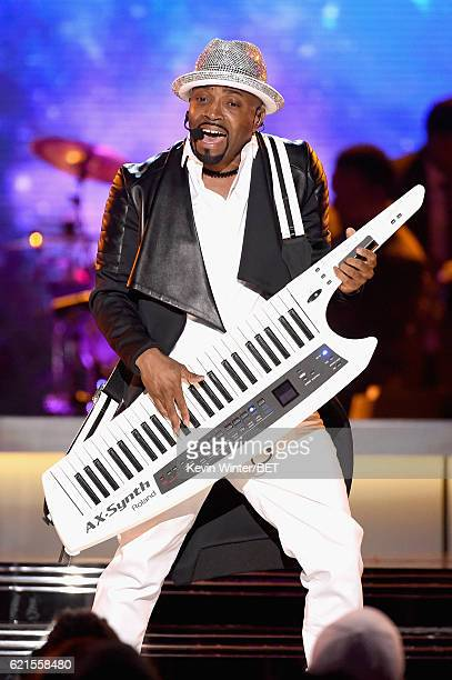 Recording artist Teddy Riley performs onstage during the 2016 Soul Train Music Awards on November 6 2016 in Las Vegas Nevada