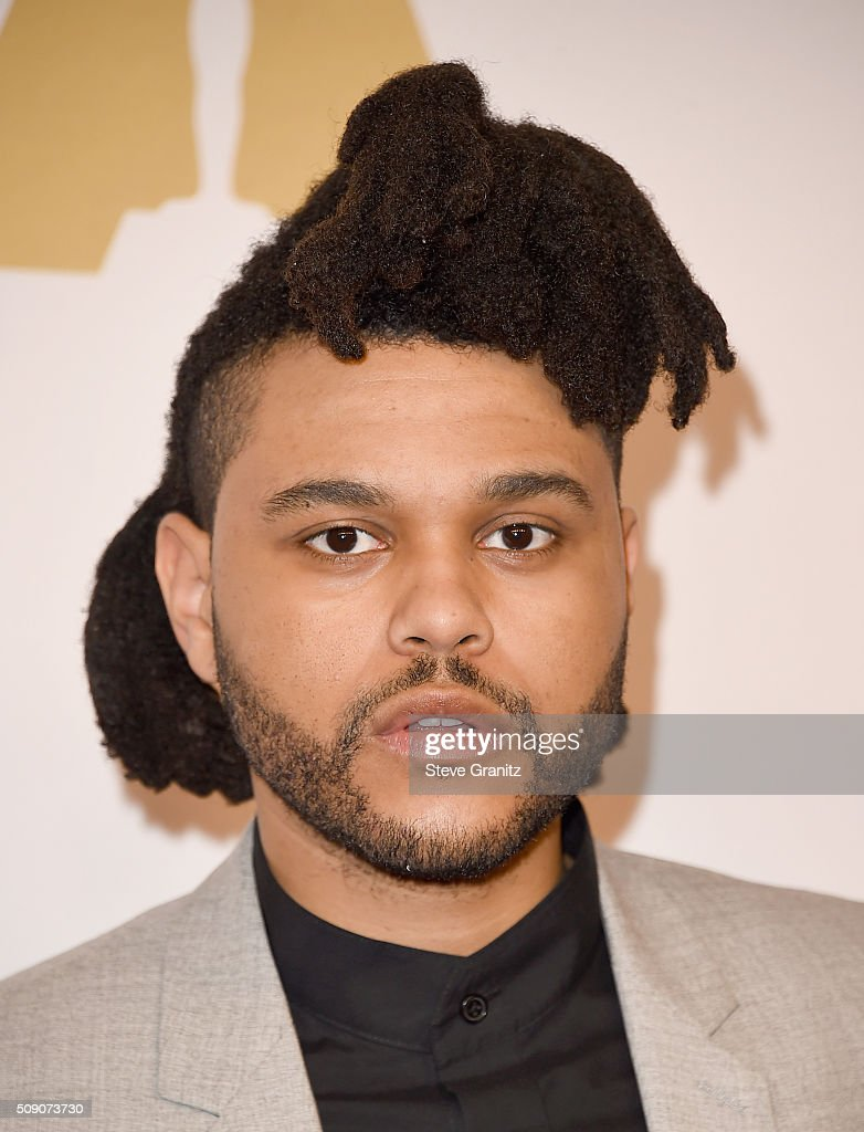 Recording artist <a gi-track='captionPersonalityLinkClicked' href=/galleries/search?phrase=The+Weeknd+-+Musician&family=editorial&specificpeople=8008743 ng-click='$event.stopPropagation()'>The Weeknd</a> attends the 88th Annual Academy Awards nominee luncheon on February 8, 2016 in Beverly Hills, California.