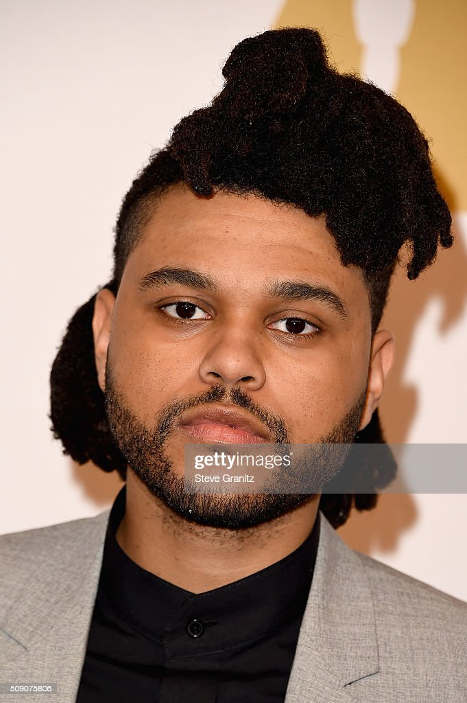 Recording artist <a gi-track='captionPersonalityLinkClicked' href=/galleries/search?phrase=The+Weeknd+-+Muzikant&family=editorial&specificpeople=8008743 ng-click='$event.stopPropagation()'>The Weeknd</a> attends the 88th Annual Academy Awards nominee luncheon on February 8, 2016 in Beverly Hills, California.