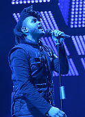 Recording artist The Weeknd performs onstage at Philips Arena on December 15 2015 in Atlanta Georgia