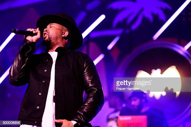 Recording artist TheDream performs onstage at The Dean Collection X BACARDI Untameable House Party on December 4 2015 in Miami Florida