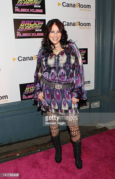 Recording artist Tiffany attends the Back to the Eighties 3 Year Anniversary with Rubix Kube at the Canal Room on March 23 2012 in New York City