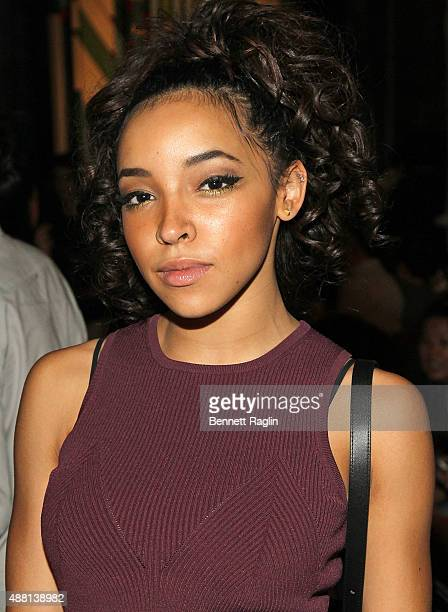 Recording artist Tinashe attends the Opening Ceremony Fashion Show during Spring 2016 New York Fashion Weekon September 13 2015 in New York City