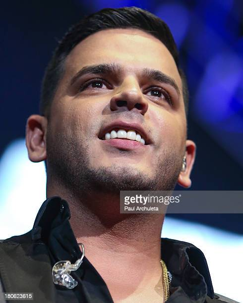 Recording Artist Tito El Bambino performs at Calibash 2013 at Staples Center on September 14 2013 in Los Angeles California