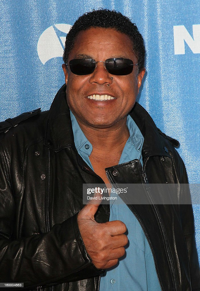 Recording artist <a gi-track='captionPersonalityLinkClicked' href=/galleries/search?phrase=Tito+Jackson&family=editorial&specificpeople=216556 ng-click='$event.stopPropagation()'>Tito Jackson</a> attends the 2013 NAMM Show - Day 1 at the Anaheim Convention Center on January 24, 2013 in Anaheim, California.
