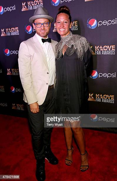 Recording artist tobyMac and wife Amanda McKeehan attend the 3rd Annual KLOVE Fan Awards at the Grand Ole Opry House on May 31 2015 in Nashville...
